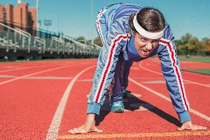 Disziplin lernen Sport